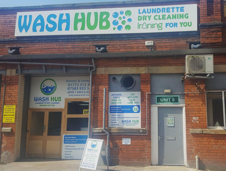Wash Hub Front